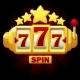 777 Slots Symbol Jackpot Sign Gold Emblem - GraphicRiver Item for Sale