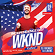Independence Day Weekend Party Flyer - GraphicRiver Item for Sale
