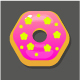 Sweet Colorful Donuts Set For Match 3 Games In Different Colors And Shapes - GraphicRiver Item for Sale