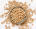 Bowl of raw dry chickpea - PhotoDune Item for Sale