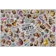 Cartoon Set of Sweets Theme Items Objects  - GraphicRiver Item for Sale