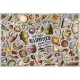 Vector Doodle Cartoon Set of Russian Food Theme - GraphicRiver Item for Sale