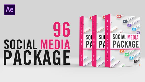 Social Media Lower Thirds Package
