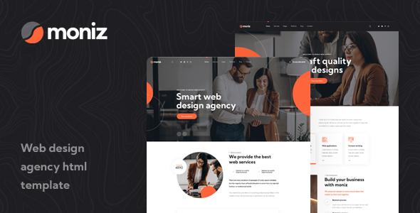 Moniz - Web Design Agency HTML Template