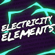 Electricity Elements // Mogrt - VideoHive Item for Sale