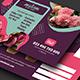 Florist Postcard Template - GraphicRiver Item for Sale