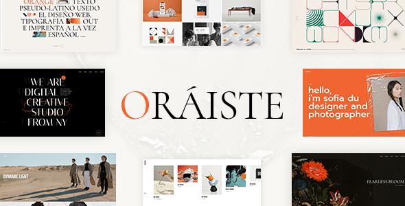 Oráiste - Creative Portfolio WordPress Theme