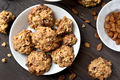 Healthy oatmeal cookies, top view - PhotoDune Item for Sale