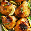 Baked chicken thighs - PhotoDune Item for Sale