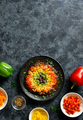 Rainbow veggie bell peppers pizza crust - PhotoDune Item for Sale