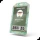 Card Badge Name Tag Holder Vertical Soft Clear PVC Mockup - GraphicRiver Item for Sale
