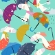 Seamless Pattern with Funny Unicorns Flying - GraphicRiver Item for Sale