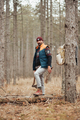 Hiker man in the forest - PhotoDune Item for Sale