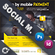 Mobile Payment Social Media Templates - GraphicRiver Item for Sale