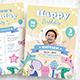 Boy Birthday Flyer invitation - GraphicRiver Item for Sale