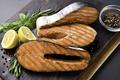 Grilled salmon steaks - PhotoDune Item for Sale