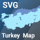 ZS Turkey map - CodeCanyon Item for Sale