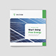 Solar Energy – Company Profile Square - GraphicRiver Item for Sale