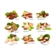 Nut Compositions Good for Label and Sticker - GraphicRiver Item for Sale