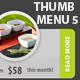 Thumb web menu navigation place your photo! v5 - GraphicRiver Item for Sale
