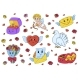 Set of Cute Cartoon Characters - GraphicRiver Item for Sale