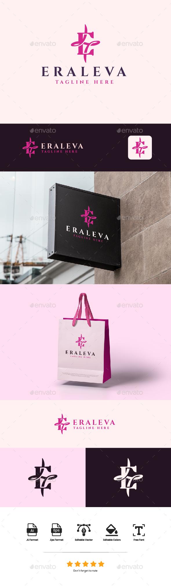 Logo Letter E - ERALEVA
