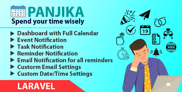 Panjika - Laravel Calendar