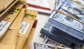 Dollar bills in criminal investigation unit, conceptual image - PhotoDune Item for Sale