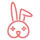 Rabbit Game Logo - GraphicRiver Item for Sale