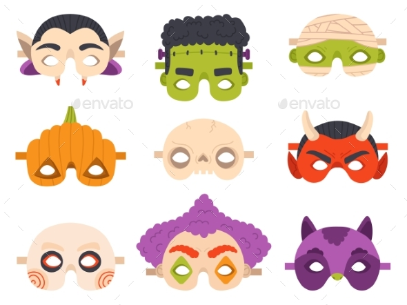 Halloween Carnival Masks