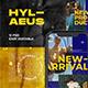 Hylaeus Instagram Template - GraphicRiver Item for Sale