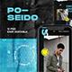 Poseido Instagram Template - GraphicRiver Item for Sale