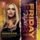 Friday Night Flyer - GraphicRiver Item for Sale