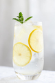Glass with Lemon Water. - PhotoDune Item for Sale