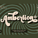Amberlion Groovy Diplay Script Font - GraphicRiver Item for Sale