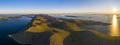 Aerial view of Kornati island archipelago at sunrise. Kornati National Park, Croatia - PhotoDune Item for Sale