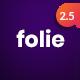 Folie | Creative Multi-Purpose Theme - ThemeForest Item for Sale