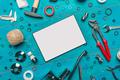 Plumbing DIY tutorial app digital tablet mock up - PhotoDune Item for Sale