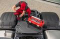 Professional Truck Mechanic Performing Vehicle Maintenance - PhotoDune Item for Sale