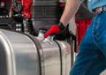 Truck Side Mounted Diesel Fuel Tanks - PhotoDune Item for Sale