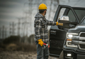 Energy Industry Worker Next to His Pickup Truck - PhotoDune Item for Sale