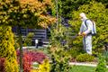 Gardener Worker Insecticide and Fungicide Garden Plants - PhotoDune Item for Sale