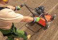 Lawn Aerator Landscaping Job - PhotoDune Item for Sale
