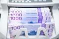 Norwegian Kroner Banknotes Inside Bill Counter - PhotoDune Item for Sale