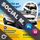Car Maintenance Social Media Templates - GraphicRiver Item for Sale