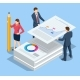 Isometric Stack of Documents - GraphicRiver Item for Sale
