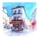 Typical Parisian Restaurant France - GraphicRiver Item for Sale