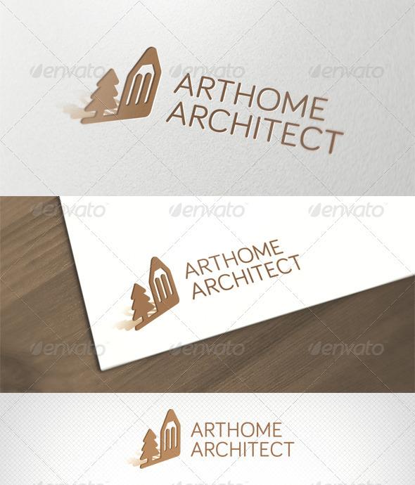 ArtHome Architect Logo Template