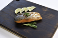 Grilled salmon steak - PhotoDune Item for Sale