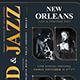 Golden Jazz Flyer Template V5 - GraphicRiver Item for Sale